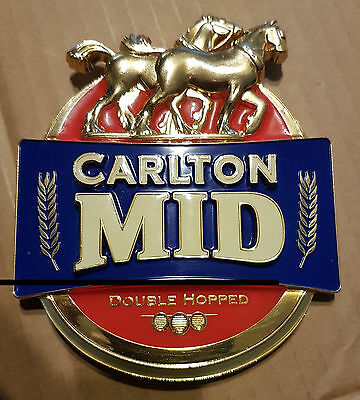 Carlton Mid Metal Tap Badge
