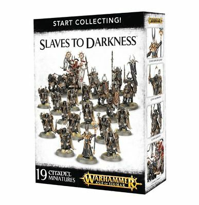 Warhammer 40k - Start Collecting! Slaves to Darkness -Brand New, Games Workshop