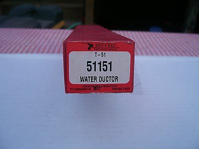 Syn Tac Precision Rolls T-51 51151 Water Ductor New In Box