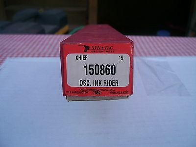 Syn Tac Precision Rolls Chief 15 150860 OSC. Ink Rider New In Box