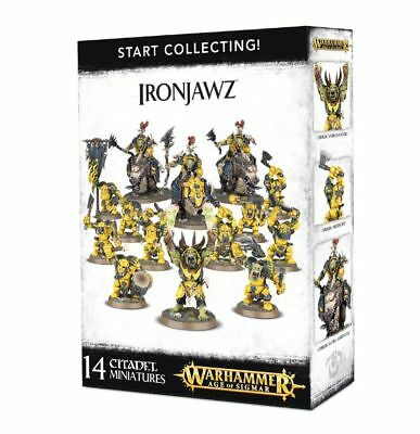 Warhammer 40k - Start Collecting! Ironjawz -Brand New, Games Workshop