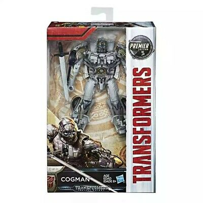 Transformers Cogman Action Figure Movie 5 The Last Knight Deluxe Hasbro Toy