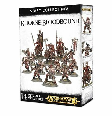 Warhammer 40k - Start Collecting! Khorne Bloodbound -Brand New, Games Workshop