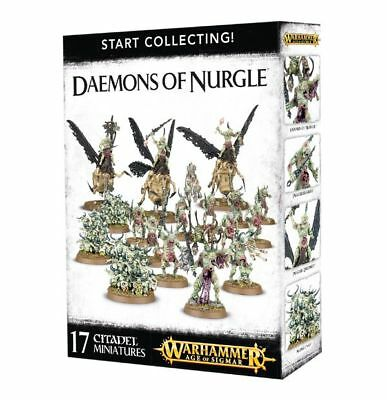 Warhammer 40k - Start Collecting! Daemons of Nurgle -Brand New, Games Workshop