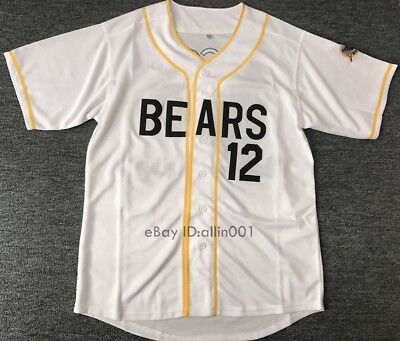 The Bad News Bears #12 Tanner Boyle Baseball Jersey Sewn Numbers