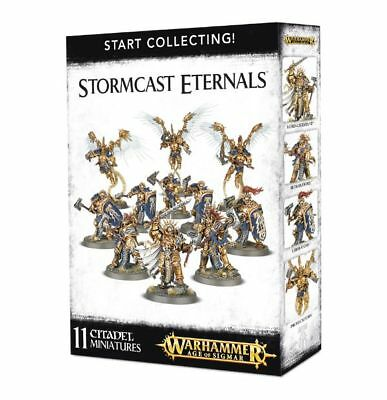 Warhammer 40k - Start Collecting! Stormcast Eternals -Brand New, Games Workshop