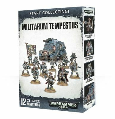 Warhammer 40k - Start Collecting! Militarum Tempestus -Brand New,Games Workshop