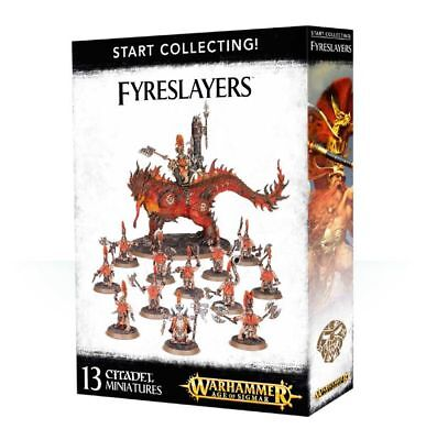 Warhammer 40k - Start Collecting! Fyreslayers - Brand New,Games Workshop