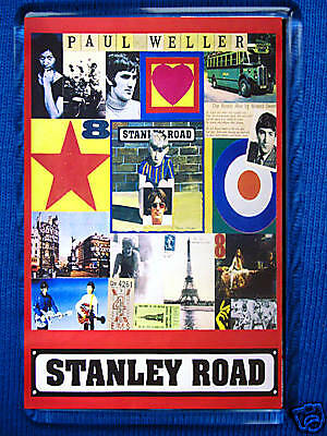 Paul Weller-Stanley Road Jumbo Fridge Magnet The Jam Oasis