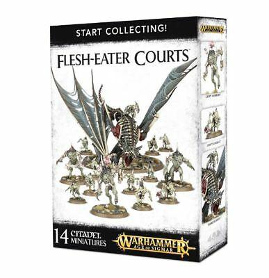 Warhammer 40k - Start Collecting! Flesh-eater Courts - Brand New,Games Workshop