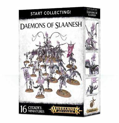 Warhammer 40k - Start Collecting! Daemons of Slaanesh -Brand New,Games Workshop