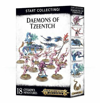 Warhammer 40k - Start Collecting! Daemons of Tzeentch -Brand New,Games Workshop