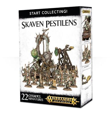 Warhammer 40k - Start Collecting! Skaven Pestilens - Brand New,Games Workshop