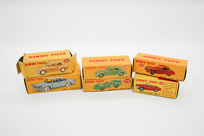Lot of 11 Vintage  Dinky Toy box's Dinky Super Toy