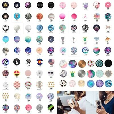 UK PopSocket Pop Sockets Grip Stand Phones Tablet Holder for iPhone Samsung Expa