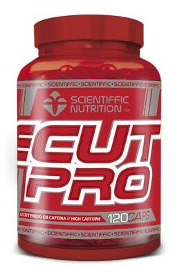 EcutPro 120 capsulas SCIENTIFFIC NUTRITION (Quemagrasas)