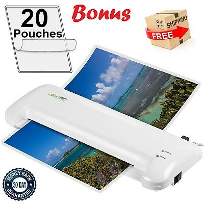 "13"" Scotch Thermal Document Photo Laminator 2 Roller System Laminating Machine"