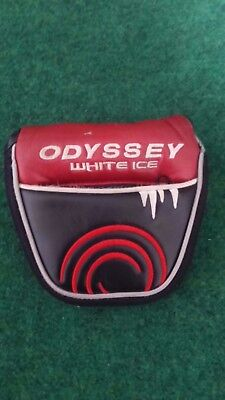 Odyssey White Ice Putter Golf Club Head Cover