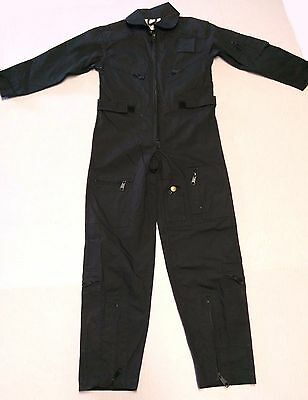 EUC Rothco Kids Flight Suit Air Force Military Coveralls Costume Uniform Small