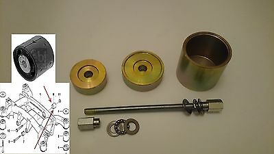 BMW X5 E53 Rear Axle Subframe Mounting Bush Removal Install Puller tool
