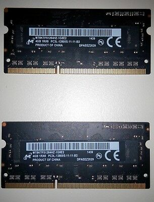 8gb (2 x 4GB) 1600 MHz DDR3 kit for Apple MacBook, iMac, Mac Mini
