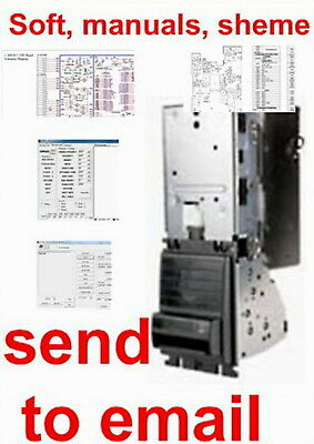Cash Code SM series Bill Acceptor Validator MANUAL, SOFT, CIRCUIT. Send to email