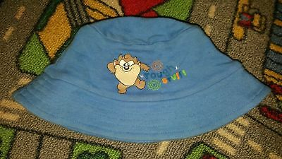 BABY BOYS Sz 0 Blue LOONEY TUNES Hat CUTE! COOL! TASSIE DEVIL!