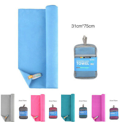Outdoor Sports Camping Microfiber Quick-Drying Shower Travel Swim Beach Towel