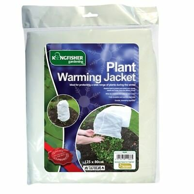 6 x Large Frost Protection Jacket Plant Warming Fleece Winter Cover 125cm x 80cm