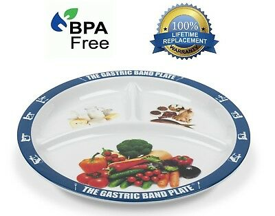 World Slimming Gastric Band Plate Portion Control Weight Loss Diet Plate