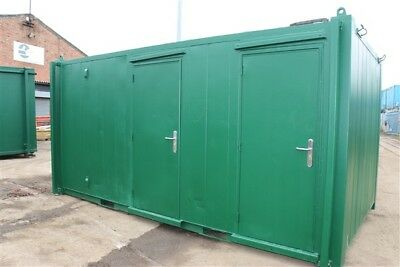 16ft x 9ft, 3 + 1 Anti-Vandal Toilet Block