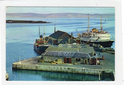 THE HARBOUR, KIRKWALL: Orkney postcard (30039)