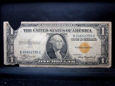 1935-A $1 North Africa Silver Certificate ✪ Vg Very Good ✪ Na 755 L@@k ◢Trusted◣