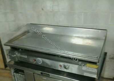 4ft Keating MiraClean Griddle Grill Commercial Restaurant