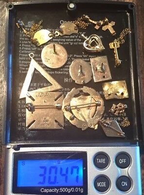 10k Solid Gold Jewelry Lot: Use, Resale, Invest Or Scrap