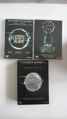 Dvd - Coffret L Integral  Le Cercle The Ring 1 + 2 - Comme Neuf