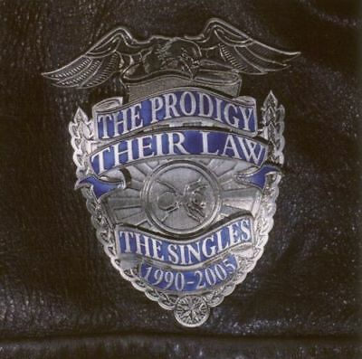 PRODIGY ~ THEIR LAW THE SINGLES 1990-2005 ~ 2 x 180gsm VINYL LP ~ D'LOAD ~ *NEW*