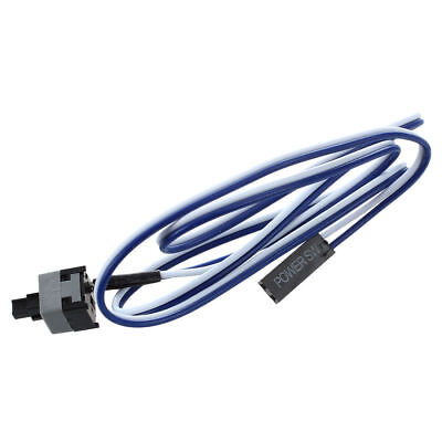 """20.5"""" Long Power Button Switch Cable for PC Switches Reset Computer I1I2"""