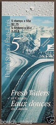 Canada Stamps — Booklet — Fresh Waters: Helmcken Falls, BC #1854 (BK228) — MNH