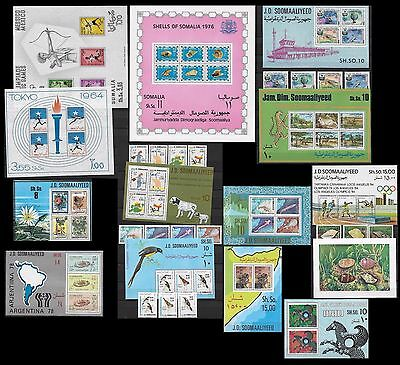 Somalia ** collezione MNH beautiful collection