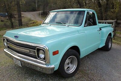 1969 Chevrolet C-10  1969 Chevy C10 Short bed Step side