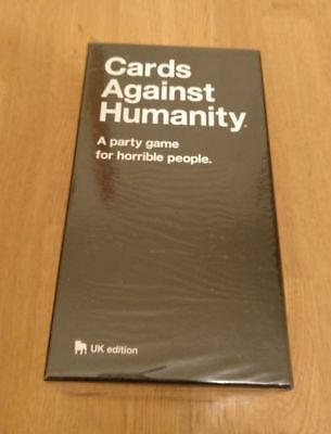 Cards Against Humanity UK Edition Board Party Card Game Dark Humour New Sealed..