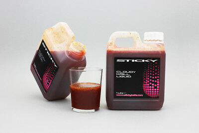 Sticky Baits NEW Carp Fishing Cloudy Krill Liquid Attractant *Fast & Free*