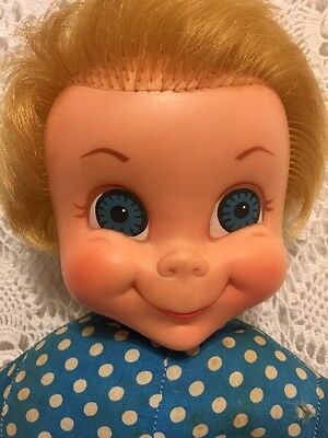 Vintage 1967 Mattel Family Affair Mrs Beasley Talking Doll She Talks