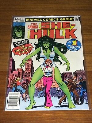 The Savage She-Hulk #1 Feb 1980, Stan Lee Book, Reading Copy - .99 cent opener!