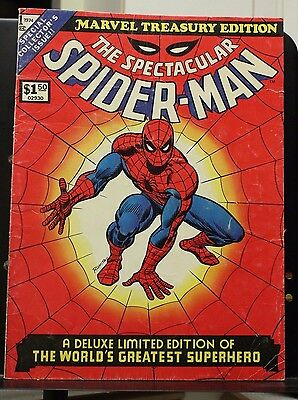 Marvel Treasury Edition #1 The Spectacular Spider-Man Marvel Comics 1974