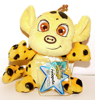 NEW SPOTTED MYNCI Neopets Series 4 Plush Unused Code NEW
