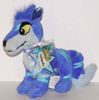 Electric Lupe Neopets Series 5 Plush Unused Code NEW
