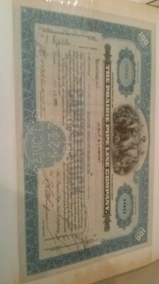 The Prairie Pipe Line Company....1929 Stock Certificate