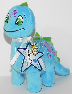Blue Chomby Neopets Walmart Exclusive Series 3 Plush Unused Code NEW